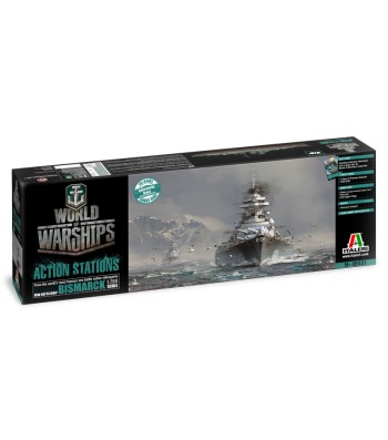 1:700 World of Warships - German Battleship Bismarck