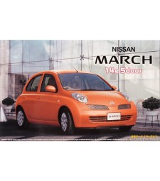 1:24 ID-62 Nissan March/Micra 14e 5 doors