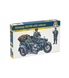 1:35 ZUNDAPP KS 750 with sidecar