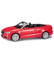 Audi A3 Cabrio - Brilliant Red
