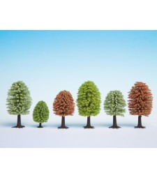 Spring Trees, 10 pieces, 5 - 9 cm high