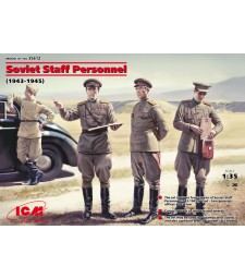 1:35 Soviet Staff Personnel (1939-1945) (4 figures)
