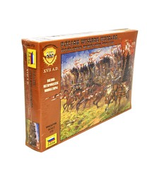 1:72 POLISH WINGED HUSSARS - 16 figures