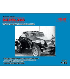 1:48 Sd.Kfz.260, German Radio Communication Vehicle