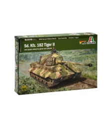 1:56 Sd. Kfz.182 TIGER II - 1 figure