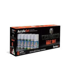 Series 1 - World of Tanks - Acrylic Paint Set (6 x 20 ml)