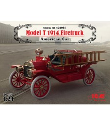 1:24 Model T 1914 Firetruck. American Car (100% new molds)