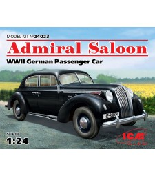 1:24 Admiral Saloon. WWII German Passenger Car
