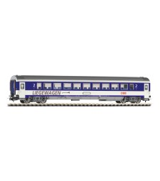 Passenger Car ÖBB, blue-light grey, epoch V