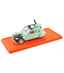 CITROEN 2CV belge 48 - LES BIJOUX DE LA CASTAFIORE - Tintin Collection by Atlas