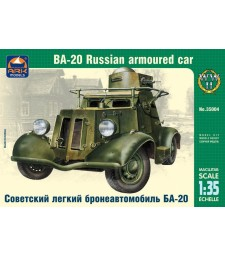 1:35 BA-20 Russian light armored car