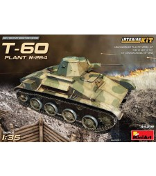 1:35 T-60 (Plant No.264,Stalingrad) Interior Kit