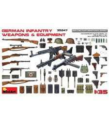 1:35 German Infantry Weapons & Equipment