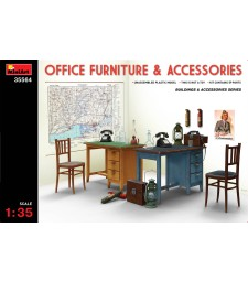 1:35 Office Furniture & Accessories