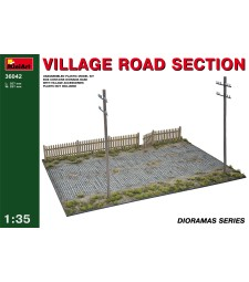 1:35 Village Road Section