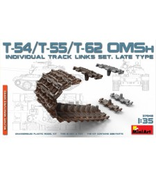 1:35 T-54/T-55/T-62 OMSh Ind.Track Links Set, LateType