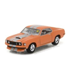 1969 Ford Mustang Resto Mod - Orange with Silver Stripes Solid Pack - Mecum Auctions Collector Cars Series 1