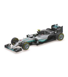 MERCEDES AMG PETRONAS F1 TEAM - F1 W07 HYBRID - ROSBERG - WORLD CHAMPION - 2016