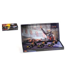 3 CAR SET - RED BULL RACING - SEBASTIAN VETTEL - 3 TIMES WORLD CHAMPION 2010-2011-2012