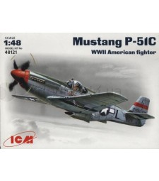 1:48 Mustang P-51C WWII American Fighter