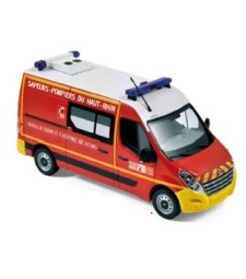 "Renault Master 2011 - ""Pompiers - VSAV"" Yellow bumpers"