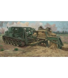 1:35 BTM-3 High-Speed Trench Digging Vehicle