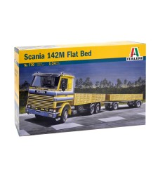 1:24 SCANIA 142M FLATBED Truck and Trailer
