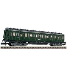 Compartment car 3rd Class type C4 trpr04 German National Railway (DRG), epoch II