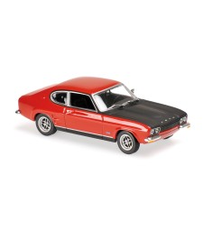 FORD CAPRI RS - 1969 - RED - MAXICHAMPS
