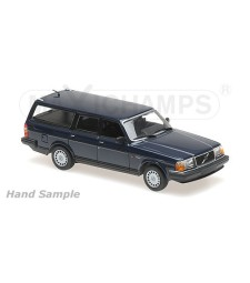 VOLVO 240 GL BREAK - 1986 - DARK BLUE - MAXICHAMPS