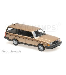 VOLVO 240 GL BREAK - 1986 - GOLD - MAXICHAMPS