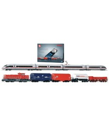 PIKO Smart Control Premium Train Set G1206 + ICE w.Loksound