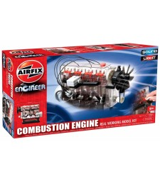 Airfix Engineer Internal Combustion Engine - Working Model with Light