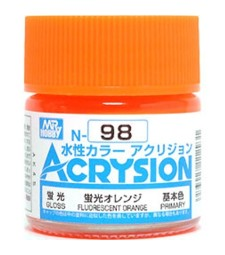 N-098 Acrysion (10 ml) Fluorescent Orange