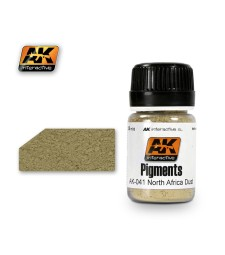AK-041 NORTH AFRICA DUST  (35 ml) - Pigment Colors
