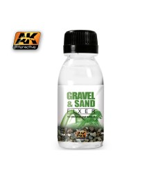 AK-118 GRAVEL & SAND FIXER (100 ml)  - Auxiliary Products
