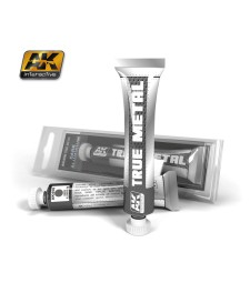 AK-456 TRUE METAL DARK ALUMINIUM  (20 ml) - True Metal Waxes