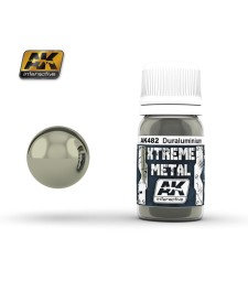AK-482 XTREME METAL DURALUMINIUM  (30 ml) - Xtreme Metal Color