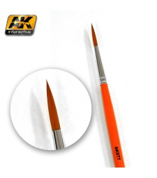 AK-577 Weathering brush fine long