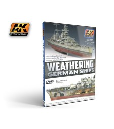 AK-650 DVD Weathering German Ships (Pal)