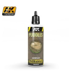 AK-8028 PUDDLES - (60 ml, Acrylic)  - Texture Products