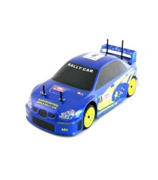 100-01  RK 1/10 BASE4 2.5 gas engine Blue Rally Car SUBARU 2.4GHz