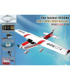 Cessna182 RC Airplane 2.4GHz 5CH RTF with 3G3X Technology