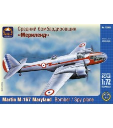 """1:72 Martin M-167 """"Maryland"""" American Light Bomber and Reconnaissance plane"""