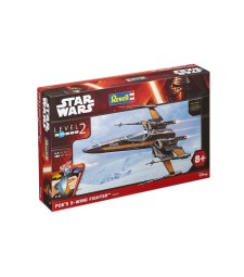 1:50 Poe's X-wing Fighter - Star Wars Episode VII - Easykit