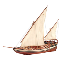 1:85 Sultan Arab Dhow - Wooden Model Ship Kit