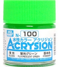 N-100 Acrysion (10 ml) Fluorescent Green