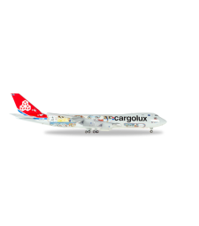 "Cargolux Boeing 747-8F - 45th Anniversary ""City of Redange-sur-Attert"""