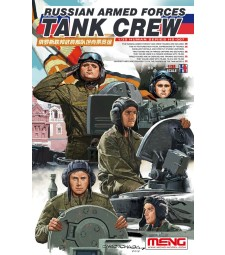 1:35  Russian Armed Forces Tank Crew - 5 figures