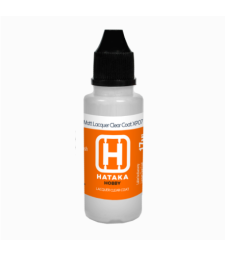 HTK-XP07 Matt Lacquer Clear Coat (17 ml) - AUXILIARY PRODUCTS